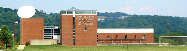 Image showing the Erma Ora Byrd Center for Educational Technologies building located on the campus of Wheeling Jesuit University.