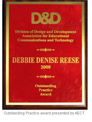 Image of Outstanding Practice award plaque.