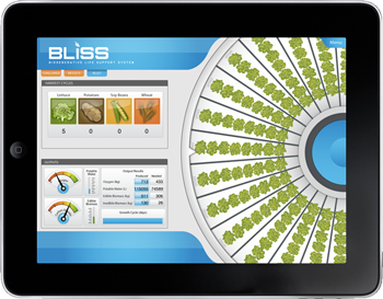 An image of BLiSS Sim for iPad.