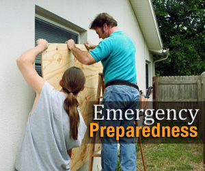 An image that reads Emergency Preparedness