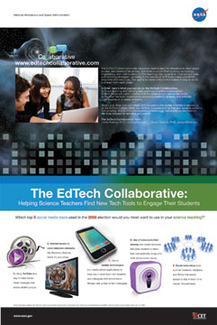 Image of EdTechCollaborative poster.