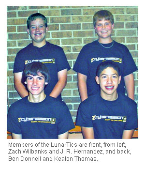 Image of LunarTics team.
