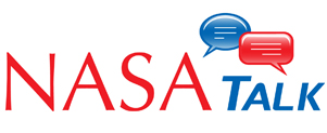 Image of the NASAtalk logo.