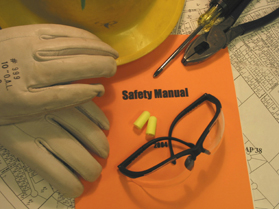 Image of safety manual.